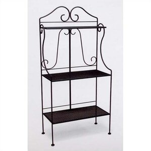 Classic Wrought Iron Collection Standard Baker's Rack by Woodard