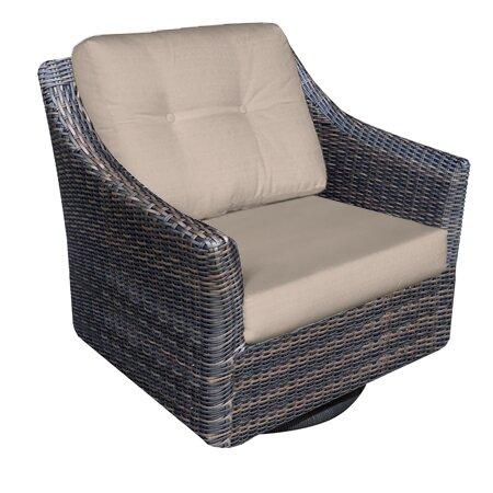 Trenton Swivel Rocking Chair With Cushions