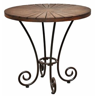 Compare & Buy Toscana Teak Bistro Table By Casual Elements