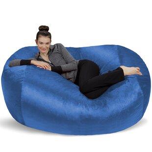 Superb Microsuede Bean Bag Lounger Inzonedesignstudio Interior Chair Design Inzonedesignstudiocom