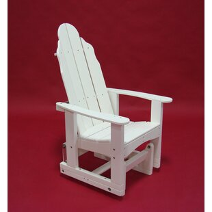 Tailwind Furniture Traditional Plastic Glider Adirondack Chair