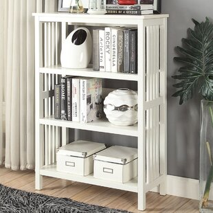 Morais 3-Shelf Standard Bookcase by Ebern Designs