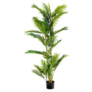 Artificial 5 Foot PalmTree In Pot By The Seasonal Aisle