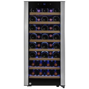38 Bottles Single Zone Freestanding Wine Cooler