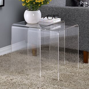 Channing 2 Piece Nesting Table Set by Mercury Row