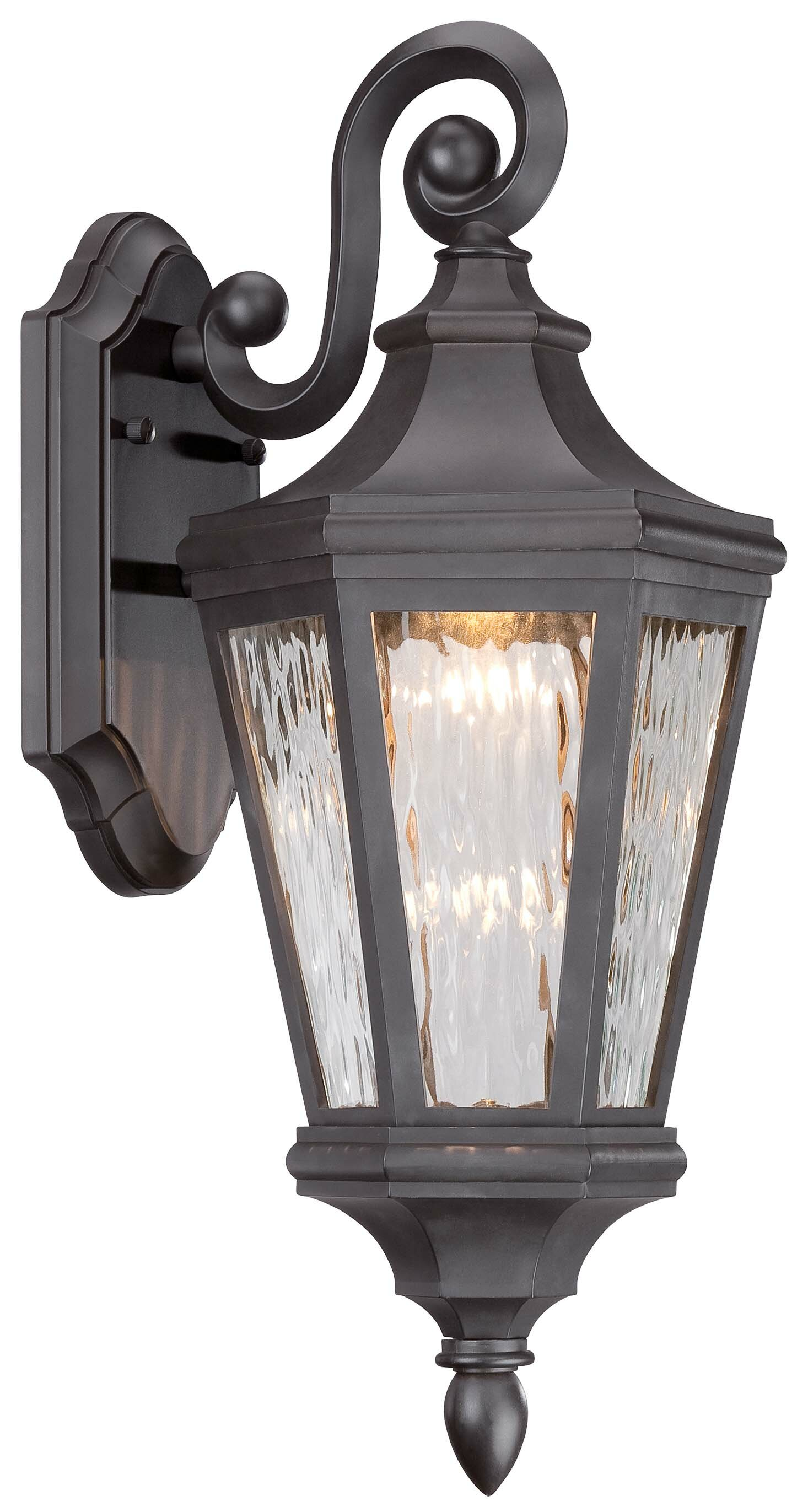 World Menagerie Deziree Led Outdoor Wall Lantern Reviews Wayfair