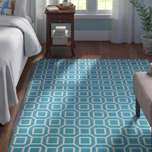Hajek Blue/Aqua Indoor/Outdoor Area Rug