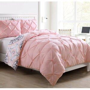 roslyn 2 piece twintwin xl reversible comforter set