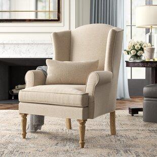 Loire Wingback Chair by Zentique