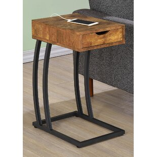 Keira End Table With Storage