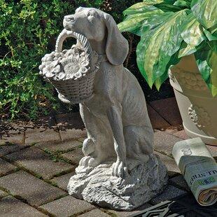 Manu0027s Best Friend Dog Statue