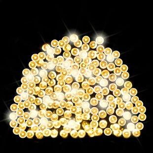 200 Warm White LED Solar Fairy Lights By OE Lights