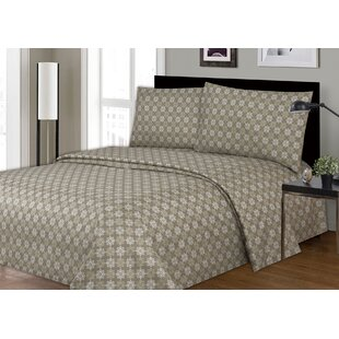 Daggett Printed Microfiber Sheet Set