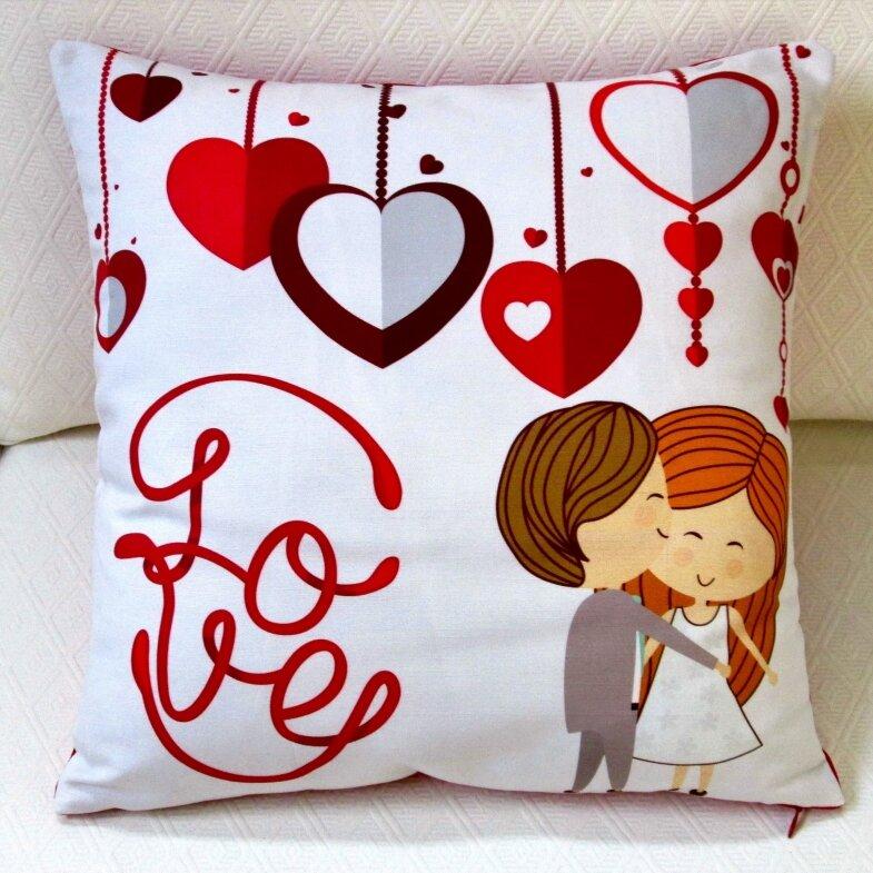 Artisan Pillows Valentine S Day Cotton Throw Pillow Wayfair