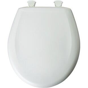 Mayfair Premium Plastic Round Toilet Seat