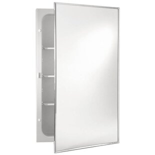 Find Basic 16 x 26 Recessed Medicine Cabinet By Jensen