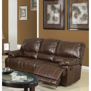 Best Reviews Barta Leather Reclining Sofa by Red Barrel Studio Reviews (2019) & Buyer's Guide