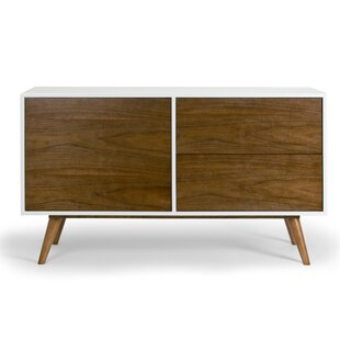 Glamour Home Decor Aira 2 Drawer Chest
