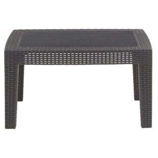 Best Reviews Stockwell Rattan Coffee Table by Breakwater Bay