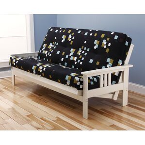 Ronning Modern Blocks Futon and Mattress by Latitude Run