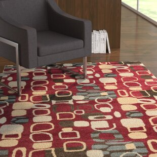 Read Reviews Demetra Red Rug ByEbern Designs