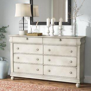 Oreana 8 Drawer Double Dresser By Three Posts