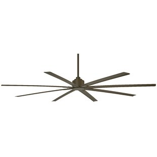84 Xtreme 8 Blade Outdoor Ceiling Fan with Remote