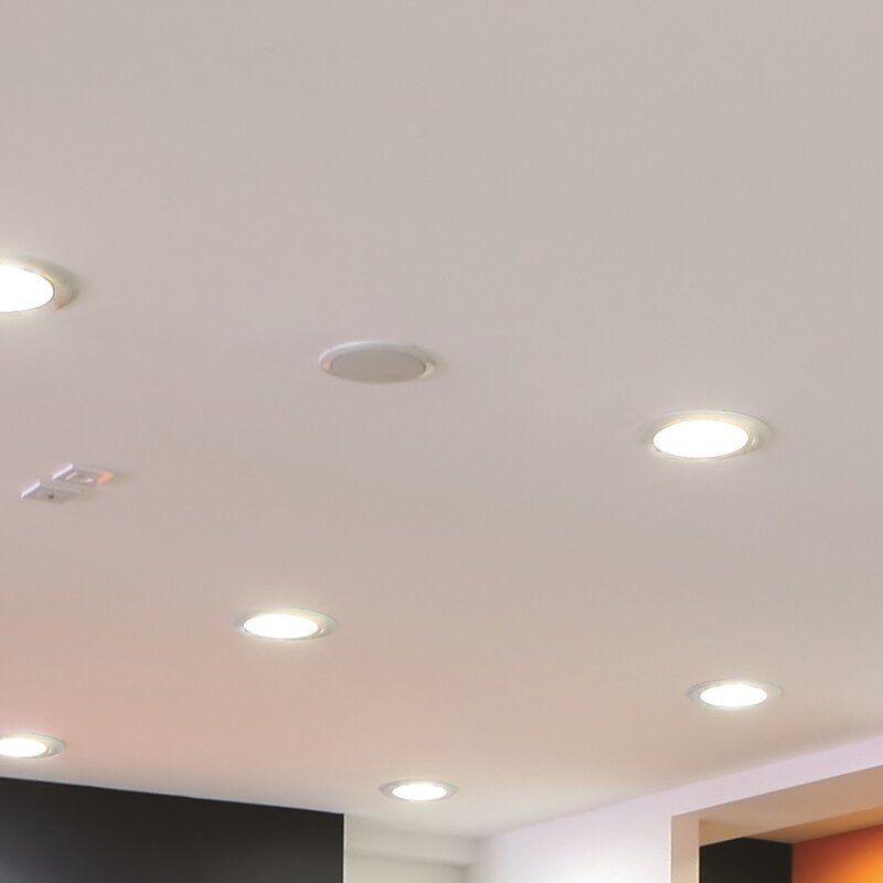 Lithonia lighting ultra thin 47 led recessed lighting kit wayfair ultra thin 47 led recessed lighting kit aloadofball Image collections