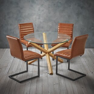 Marco Dining Set 4 Chairs By Brayden Studio