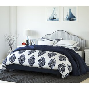Winston Porter Anchor Bay Upholstered Panel Bed