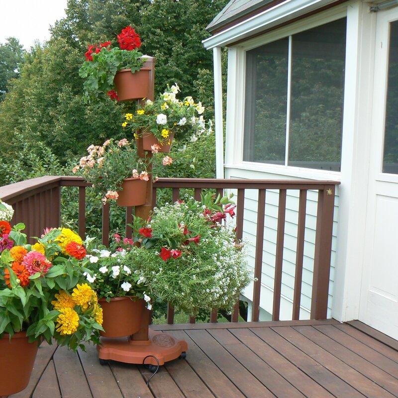 My Garden Post Plastic Vertical Garden & Reviews | Wayfair