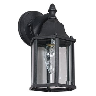 Best Deals 1-Light Outdoor Wall Lantern By Sunset Lighting