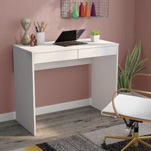 Best Reviews Adalyn 2 Drawer Compact Writing Desk ByZipcode Design