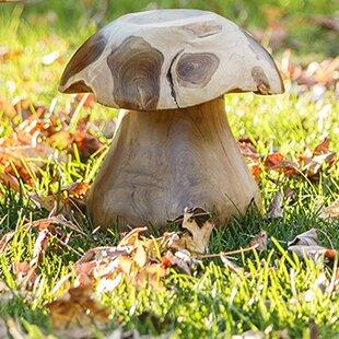 Garden Age Teak Mushroom S..