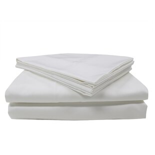 Nanotex 400 Thread Count Cotton Sateen Sheet Set
