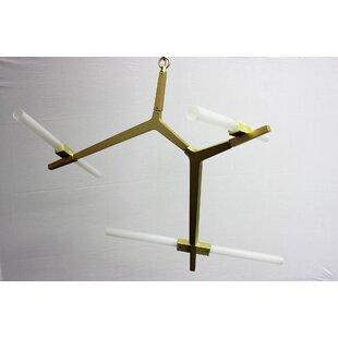 George Oliver Westerberg 6-Light Sputnik Chandelier