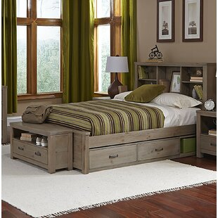 Stella Full Bookcase Bed With Trundle