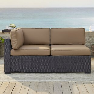 Highland Dunes Dinah Loveseat with Cushions