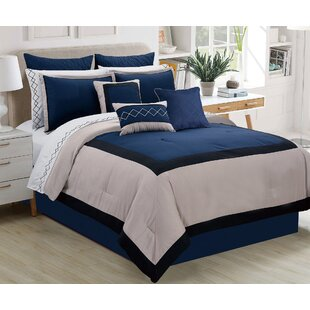 Red Barrel Studio Parker Contemporary 7 Piece Comforter Set