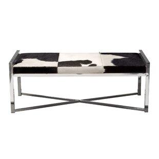 Diamond Sofa Mystique Leather Bench