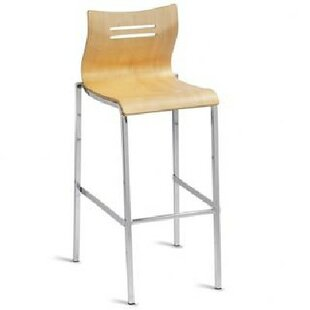 Brayden Studio Wooden Seat Bar Stools