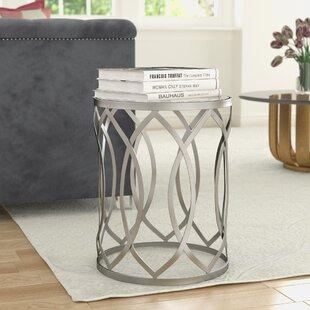 Willa Arlo Interiors Kehl Metal End Table