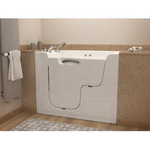 Mohave 53 inch  x 29 inch  Whirlpool Jetted Wheelchair Accessible Bathtub