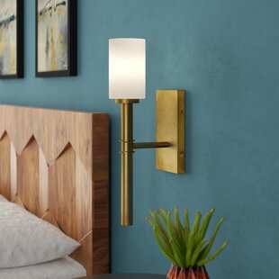 Check Prices Darrell 1-Light Wall Sconce By Langley Street