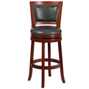 Snavely 30'' Swivel Bar Stool by Darby Home Co
