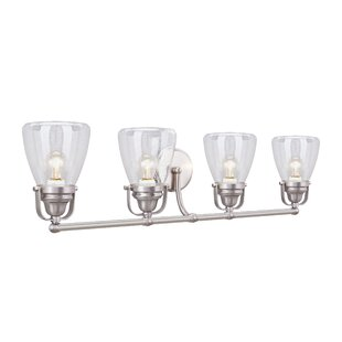 Breakwater Bay Mayfield Metal 4-Light Vanity Light