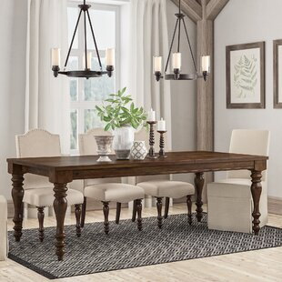 Hilliard Extendable Dining Table DarHome Co