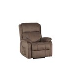 Aryahna Faux Leather Power Recliner by Latitude Run®