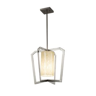 Luzerne Intersecting 1-Light 9W Foyer Pendant by Brayden Studio