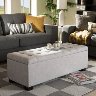 Latitude Run Kareem Upholstered Storage Bench